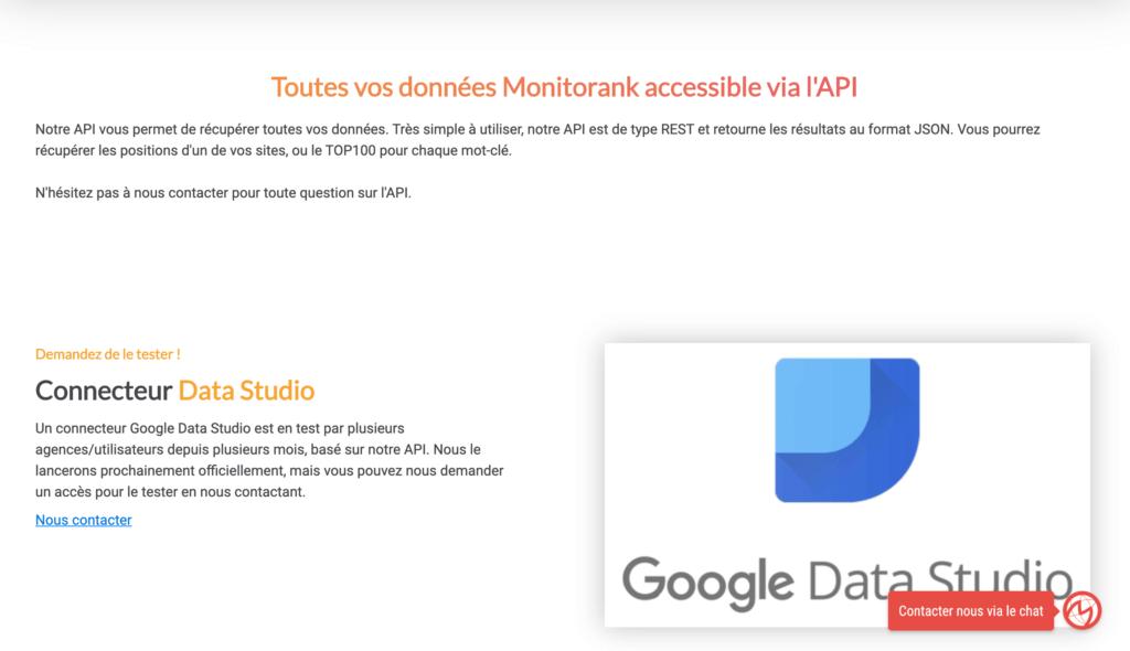 API monitorank